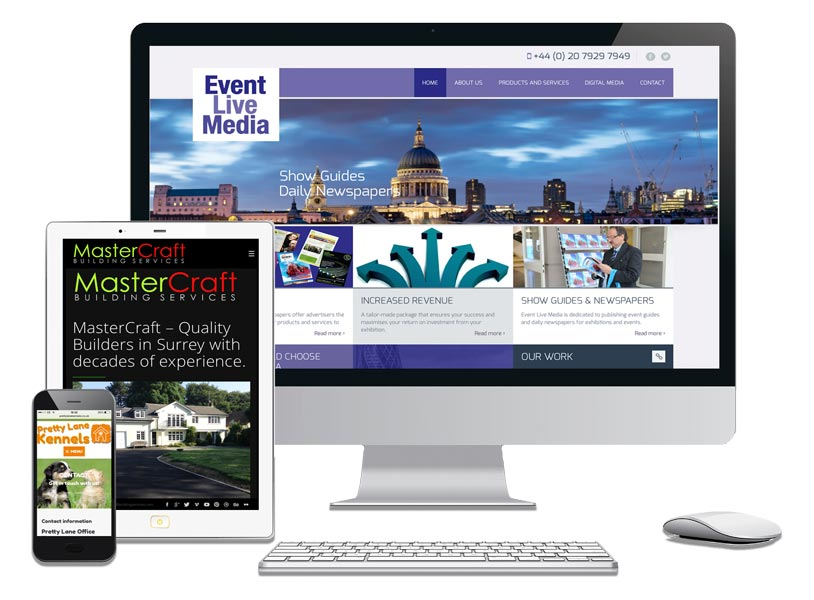 Website Design Packages Surrey