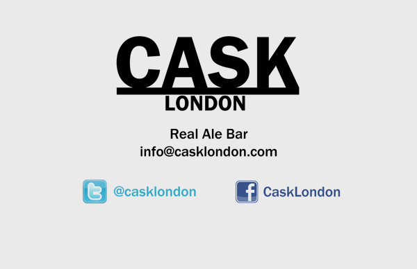 Cask Front Business Card Design
