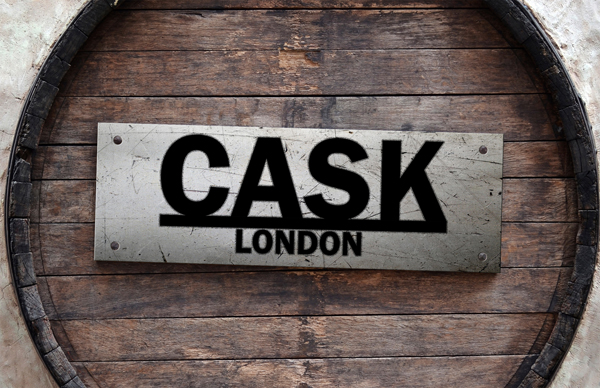 Cask Rear Business Card Design